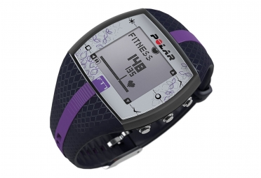 polar montre cardio ft7 bleu lilas