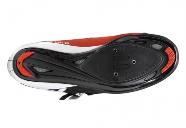 chaussures route northwave phantom srs rouge noir blanc 46
