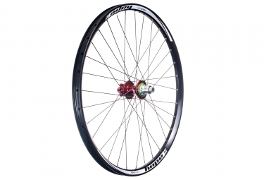 Roue arriere hope tech dh pro 4 27 5 12x150mm corps xd rouge