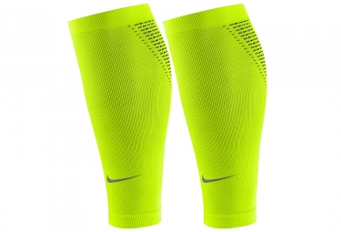 2c6043e5bf Nike Elite Calf Compression Sleeves Yellow | Alltricks.com