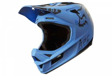 Casque integral fox rampage pro carbon moth mips bleu noir xl 61 62 cm