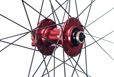 Roue Avant HOPE Tech Enduro Pro 4 27.5´´ | 9/15x100mm | Rouge