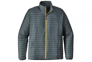Doudoune patagonia down shirt gris vert xl