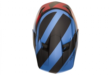 Casco Integral Fox Fox Rampage Comp Creo Bleu / Rouge