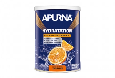 APURNA Boisson energetique Orange Pot 500g