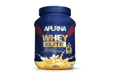 Apurna boisson proteinee whey elite isolat vanille pot 750g