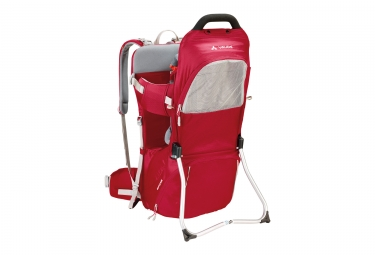 Vaude Shuttle Base Baby Carrier Red