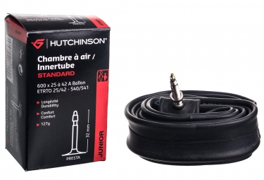 HUTCHINSON Chambre à Air Kids Standard 600x25/42A Ballon Presta 32mm