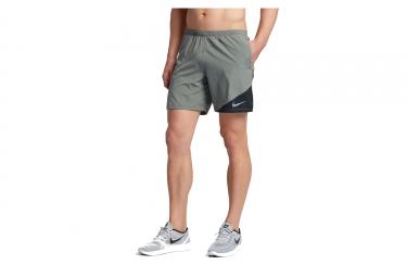 Short Nike Distance Gris Noir Homme