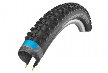 pneu schwalbe smart sam 27 5 tubetype souple snakeskin double defense dual compound