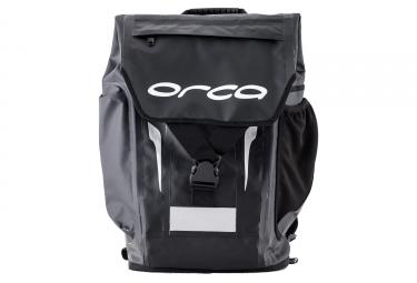 orac urban waterproof bag black