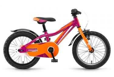 velo enfant winora rage 16 rose orange