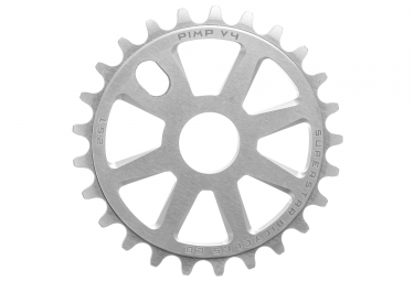 Superstar Pimp V4 Sprocket Silver