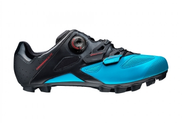 paire de chaussures vtt mavic crossmax elite 2017 noir bleu 42