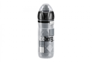 Bidon elite iceberg thermo noir gris 500ml