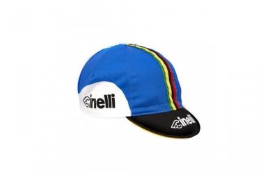 cinelli casquette bassano 85 bleu noir