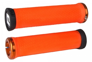 Poignees odi elite motion orange lock on orange