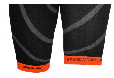 Short Triathlon SPIUK 2017 Long Distance Noir Orange