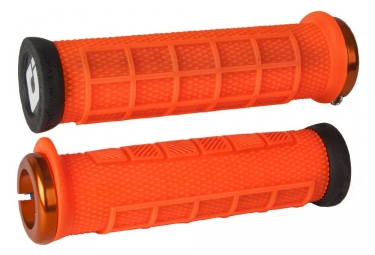 Poignees odi elite pro orange lock on orange