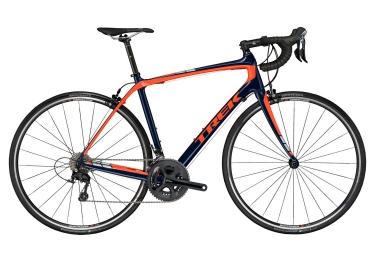 velo route trek 2017 domane s 5 shimano 105 11v bleu orange 54 cm 167 176 cm