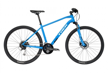 trek ds 3 urban bike shimano acera 9s blue 2017 22 5 pulgadas 196 204 cm - Trek