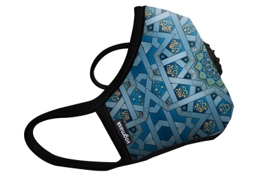 Masque Anti-pollution VOGMASK N99CV CHAKRA Bleu