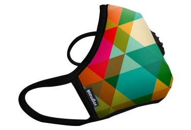 masque anti pollution vogmask n99cv paradise multi couleur l