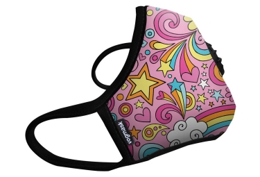 Masque Anti-pollution VOGMASK N99CV RAINBOWS Rose