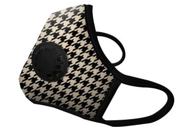 Masque Anti-pollution VOGMASK N99CV TOOTH Beige Noir