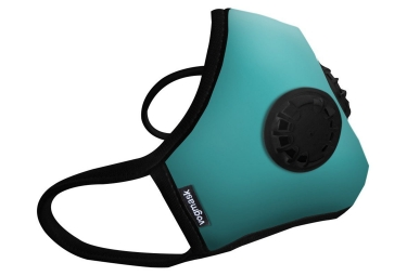 Masque Anti-pollution VOGMASK N99CV2V AquaSplash Bleu (2 valves)