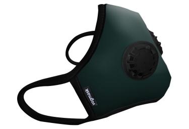 Masque Anti-pollution VOGMASK N99CV2V PineGrove Vert (2 valves)