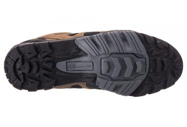 paire de chaussures massi trekking coyote beige noir 39