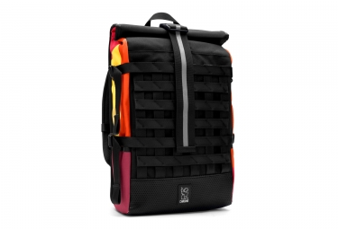 Sac a dos rolltop chrome barrage cargo cinelli noir jaune orange