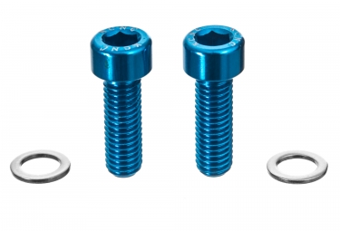 KCNC Bottle Cage Screw M5 x 15mm Blue