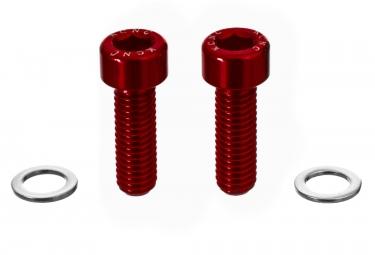 vis porte bidon kcnc m5 15mm rouge