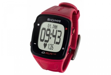 Montre gps sigma id run hr rouge