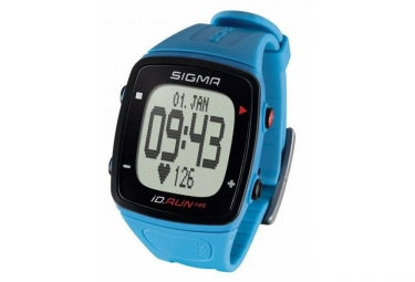 Montre gps sigma id run hr bleu