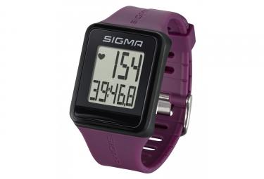 montre de sport sigma id go violet