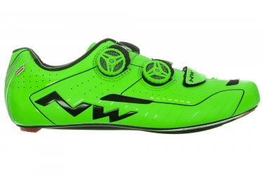 chaussures route northwave extreme vert 41