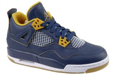 Sneakers enfant jordan 4 retro bg bleu 39