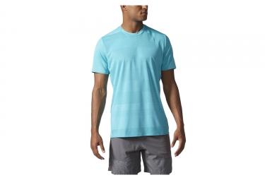 Adidas running maillot manches courtes supernova bleu m