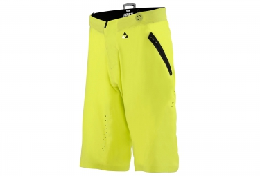 short avec peau 100 celium solid jaune fluo 28