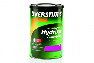 boisson energetique overstims hydrixir antioxydant cocktail exotique 600g