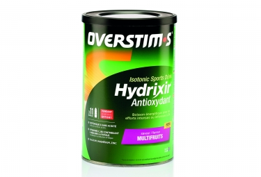 boisson energetique overstims hydrixir antioxydant multifruits 600g