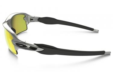 lunettes oakley flak 2 0 argent jaune iridium ref oo9295 02