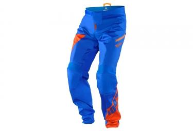 pantalon 100 r core dh nova bleu orange 32