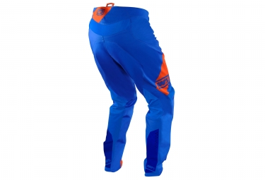 Pantalon 100% R-Core DH Nova Bleu Orange