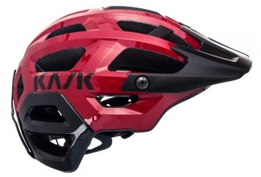 Casque VTT KASK Rex Rouge Noir