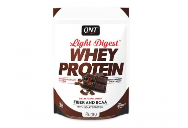 Boisson Proteinée QNT Light Digest Whey 500g Chocolat Belge