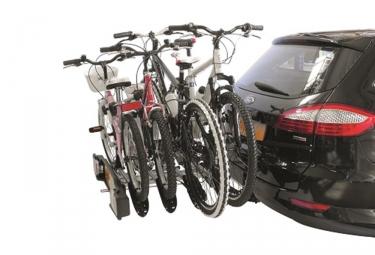 Porte-Vélo sur Boule d'Attelage Inclinable Peruzzo Siena 4 pour 4 Vélos